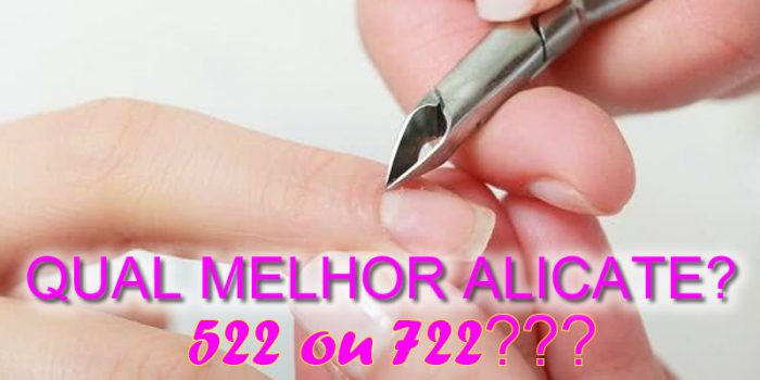 Alicate Manicure Profissional 522 722 Mundial