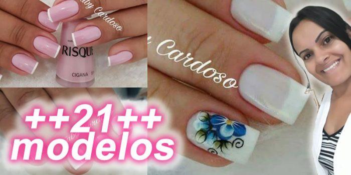 Unhas Francesinhas Manicure Faby Cardoso