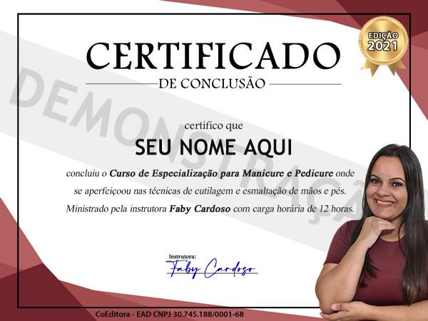 certificado demo